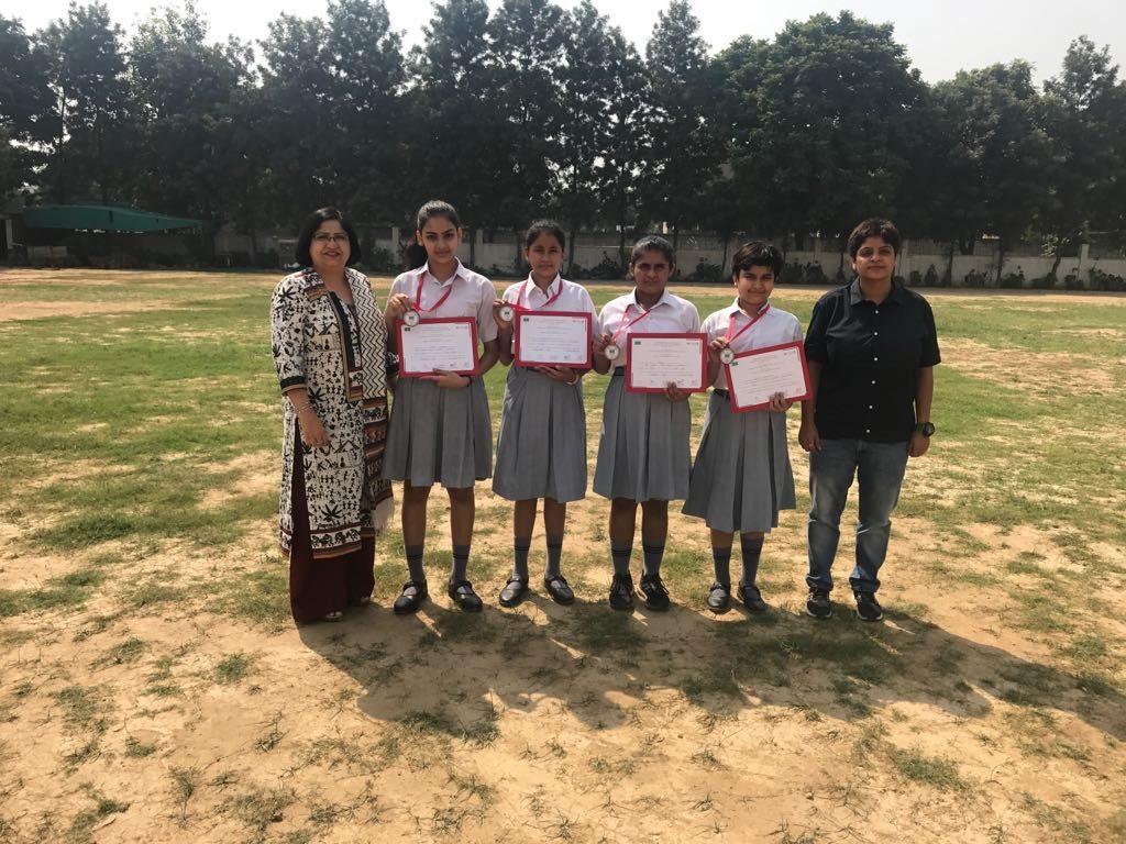 IIIrd in Junior Girls -Eleven Even Table Tennis Championship