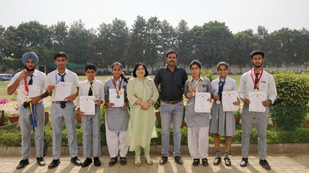 92nd Open Punjab State Athletics District Winner