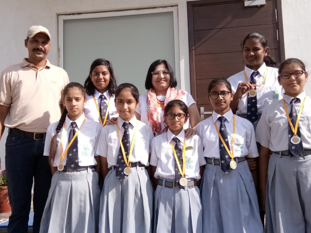 IInd in U-17 Girls category in Open District Volleyball Tournament
