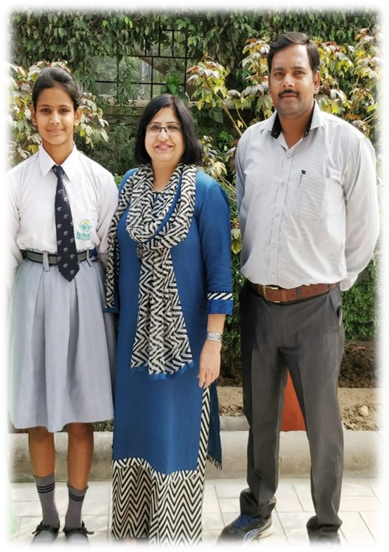 Disha Goyal reached in semi finals in 22nd CBSE National Athletics Meet