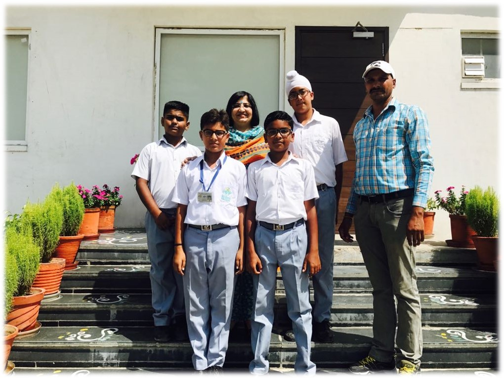 U-14 Boys selected for District level Volleyball