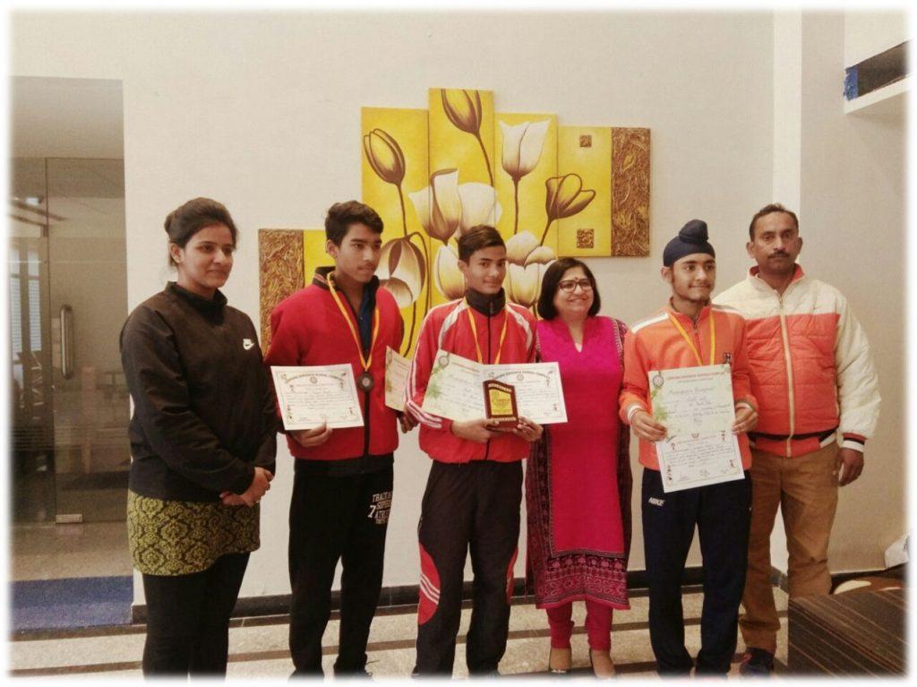 U-17 Boys got 3rd position in LSSC Badminton Tournament