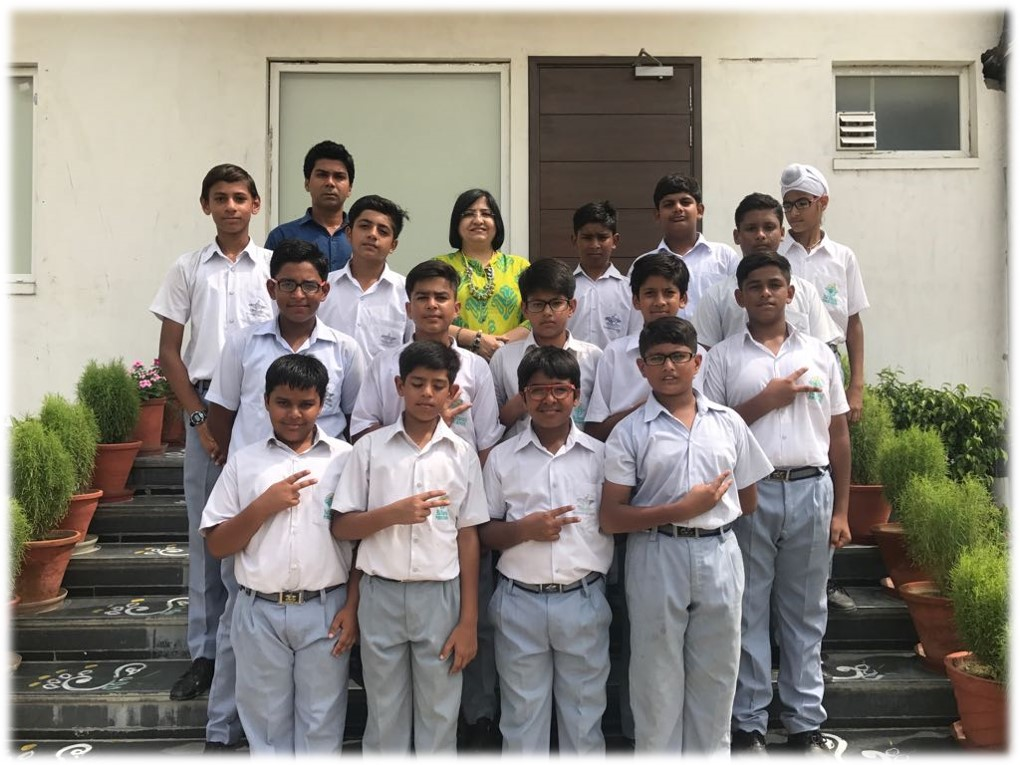 3rd in U-14 Boys -Punjab School Zonal Cricket Tournament