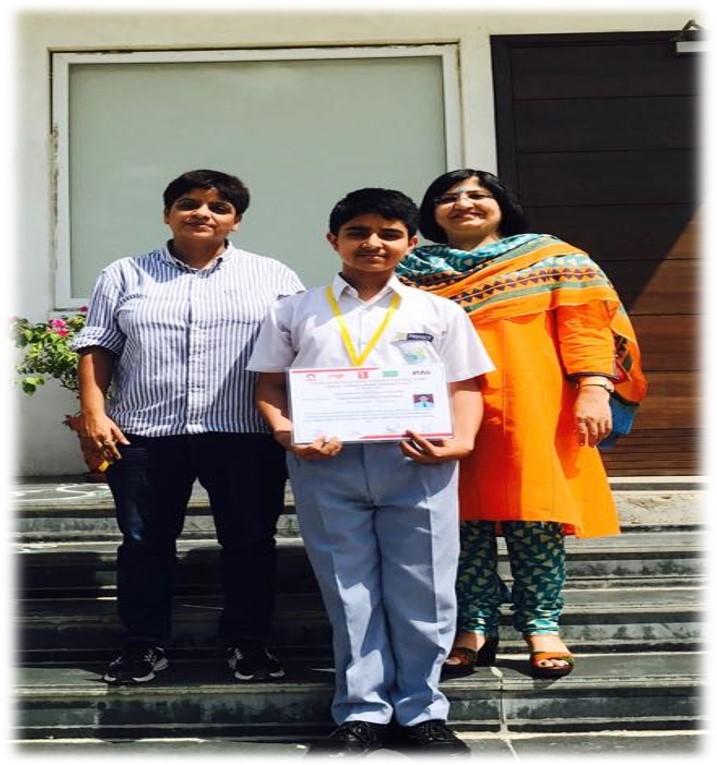 Aaditya Sharma participated in National Table Tennis