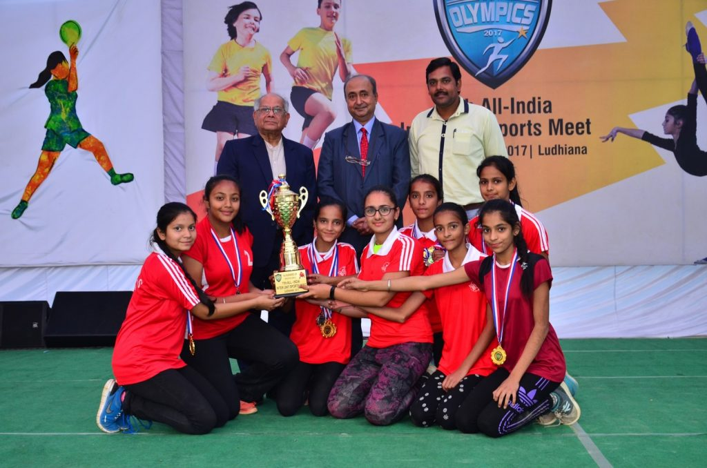 11th All India Inter Unit Bal Bharati Sports Meet