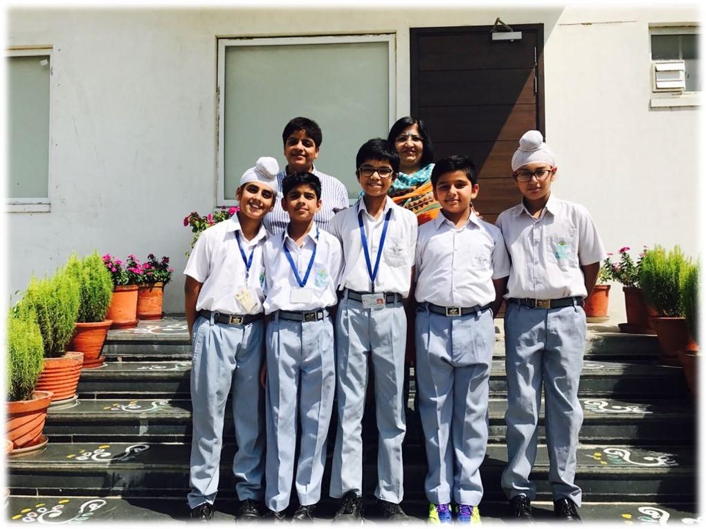 2nd in U-14 Boys-Punjab Zonal Table Tennis Tournament