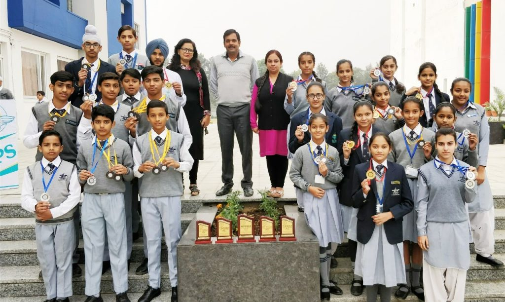 44 Medals (9 Gold, 21 Silver & 14 Bronze) in LSSC Athletics Competition