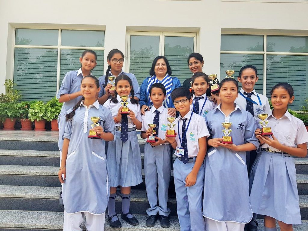 3rd Prize in Inter School Choreography Competition
